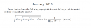 Problem january 2016 nested rad