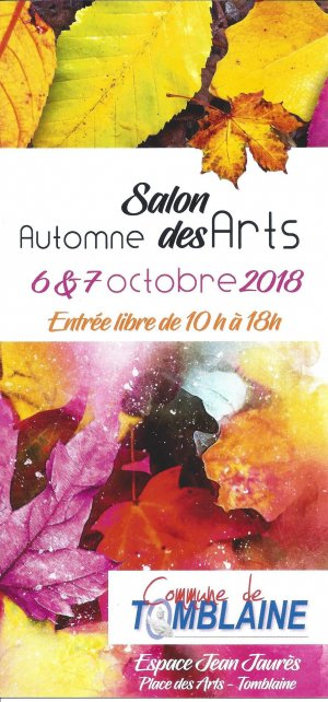 AfficheExpoAutomneArts2018
