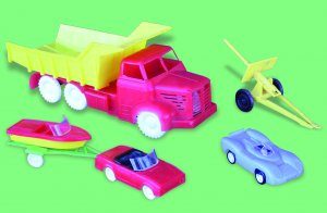Voitures an 60 - La Toys Factory 3150+fond