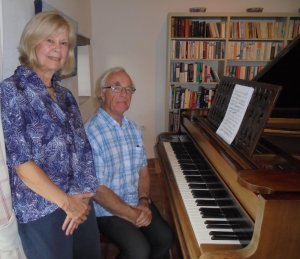 Donateurs piano Jon et Ann Hebert