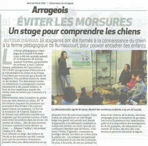 Article l'Observateur Arrageois