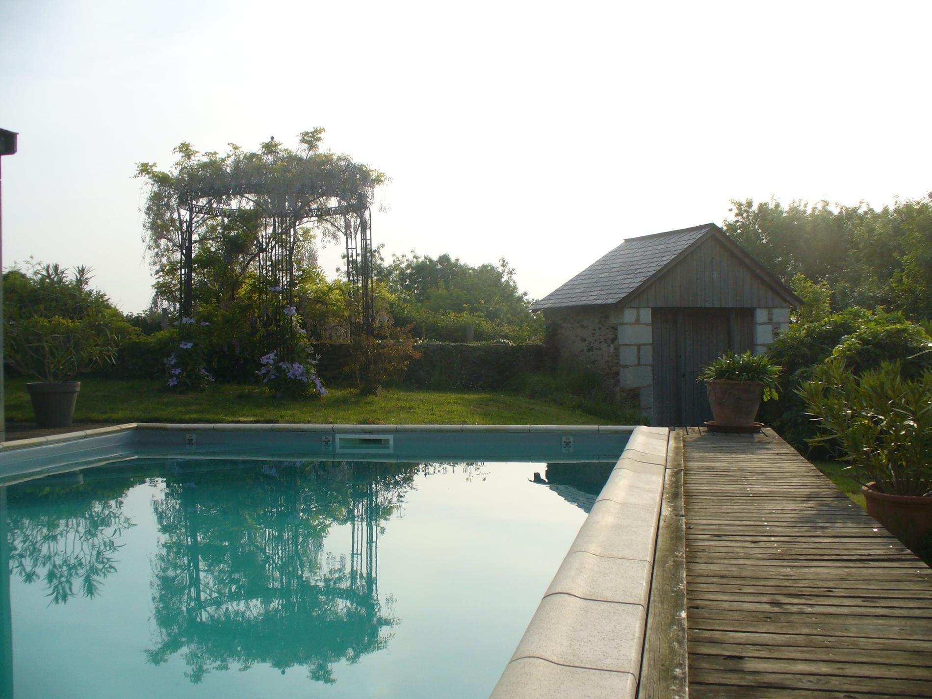 La Bidetterie chambres d h´tes avec piscine  Denée pr¨s d Angers