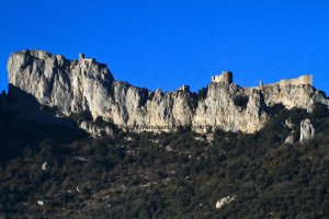 chateaux Peyrepertuse, Pays Cathares
