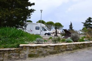 aire camping a Fanjeaux