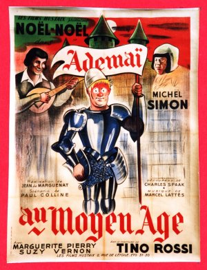 1934AfficheFilmAdemaiAuMoyenAge001