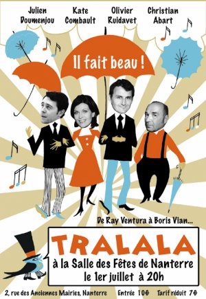 affiche tralala mail