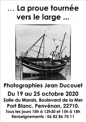 Affiche Expo port blanc octobre 2020