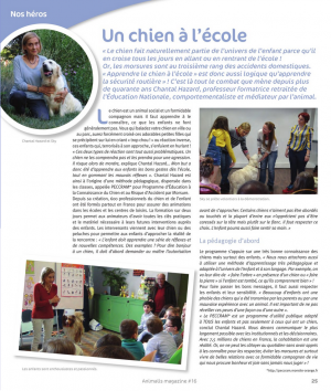 Article Animalis n°16 janveir 2019