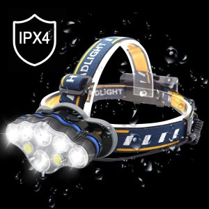 lampe frontale 8 leds XPX4