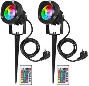 spot piquet RGB 220V led 10W