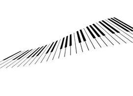 piano transparent