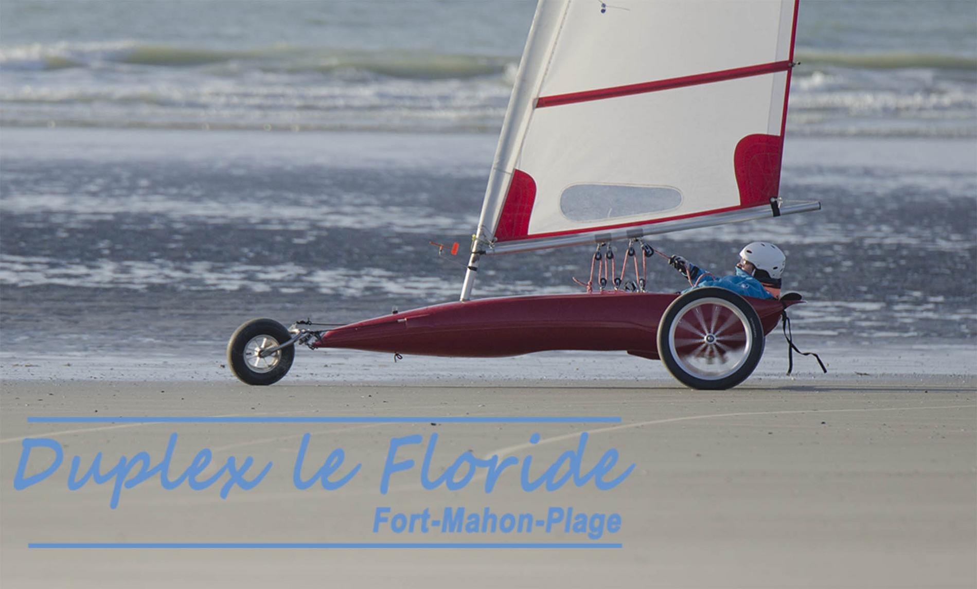 char a voile fort mahon plage grande